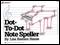 Dot-To-Dot Note Speller (P)