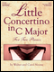Little Concertino in C Major for 2 Pianos (2P4H)