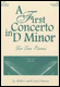 First Concerto in D minor (2P4H)